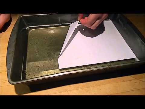 Hectograph printing - aka. 1940s copier