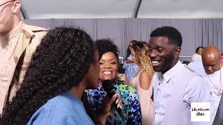 "Here is a video of The Humor Mill on the red carpet of the 2017 BET Awards. The question was asked to all of the celebs who stopped thru- ""what would you name Beyonce and Jay Z's twins?"" Watch some of the responses!"