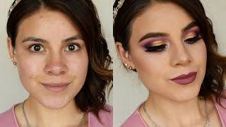 Les tengo éste maquillaje para graduación, estoy utilizando un tono cobre que es el protagonista de los ojos. Tu puedes cambiar el color de labial por tu preferido. Mil gracias por su cariño y apoyo💕❤Si te gusto este vídeo no olvides suscribirte a mi canal!Productos usados:Natura, Blur Perfeccionador instantáneo Amor Us, Radiant GLOW Cushion Foundation, L.A Girl, PRO.conceal HD,  Prolux, CONCEAL, 06 Fair By Apple Accessories, BeautyASK Beautylab, PHOTOCHROMATICBeauty Creations, Contour Palette ASK Beautylab, Blush Dúo, Couture Peachy Pink Zermat, Deep Glow Reflex Anastassia Beverly Hills DIPBROW pomade, Chocolate Jordana, 12HR MADE TO LAST Eyeshadow PENCIL, Continous Almond Adara, Quattro Eyeshadow, 08ASK Beautylab, Eyeshadow , Byzantine Aubergine ASK Beautylab, Eyeshadow, Tricot Gray Adara,  GET LUMINOUS Shimmer Powder, Gloden Bronze Jordana, Liquid Liner Adara,  Eyelashes, Jessie j-lash Eyelash Adhesive Latex free Waterproof, Clear-WhiteAdara, High BROW A brow lifting PENCIL,  02 ASK Beautylab, Extended Mascara Adara, Contour Palette OFRA, Long Lasting Liquid Lipstick, TUSCANY TUTORIAL DE CEJAS:https://youtu.be/0_fvh6WXbqkSILISPONGE Funciona o no?https://youtu.be/VovQ0GkKXoYOFRA Distribuidor oficial en México: True Mee Cosmetics https://www.truemeecosmetics.com.mx🌟Redes sociales🌟✔https://www.facebook.com/nimbeds✔Twitter: https://twitter.com/Nimbe_Celezte✔https://www.instagram.com/nimbeds/✔Snapchat 👻 nimbesouver📪e-Business: nimbedesouverville@outlook.comDonde comprar Dermatisse?  https://www.facebook.com/LaCosmetikeraQueretaro/Compra Zermat online: http://45.55.153.117/eCommerce.php?a=oisoppi8p5sokttv31kt3c1998&b=aei853c359&lang=ESDonde comprar e.l.fhttp://www.elfcosmeticos.mx/Donde comprar Adara:http://www.adaraparis.com/CDMX: Bazar Coapa, Pasillo E, local 40Compras en el centro CDMX : https://youtu.be/HTLi7ZHFL8EVídeos interesantes:BB Cream Amorus💕 Reseña:https://youtu.be/vYMUPdPsYXEBissu Long Wear Foundation Reseña:https://youtu.be/WiF9-Vm-nvEMaquillaje neutro: 