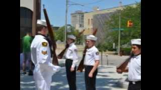 Saginaw (MI) United States  City pictures : Sea Cadet Training at Saginaw Valley State University in Saginaw Michigan;