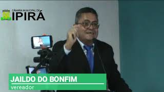 FALA DO VEREADOR JAILDO DO BONFIM