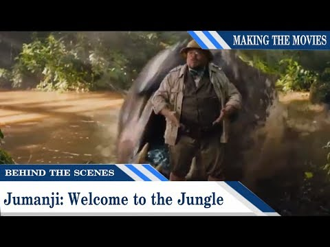 Behind The Scenes: Jumanji: Welcome to the Jungle | Making the Movies