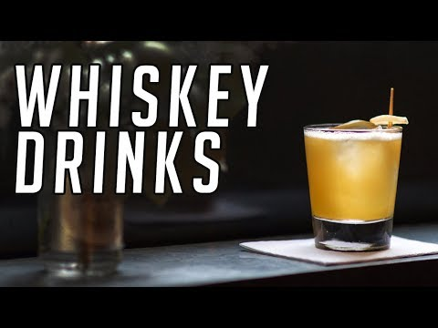 10 Whiskey Cocktails Everyone Should Know    Whisky Drinks    Gent's Lounge