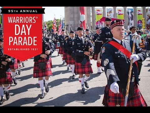 Toronto. 95th annual Warriors' Day Parade.