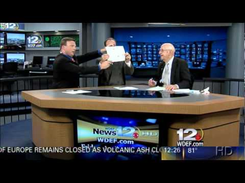 Weatherman Brian Smith Performs A Stick Figure Forecast (PART 2)