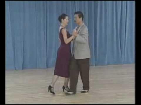 основные фигуры аргентинского танго - 07 Ochos para adelante(3 часть)