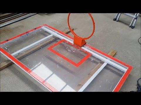 Make Basketball Backboard