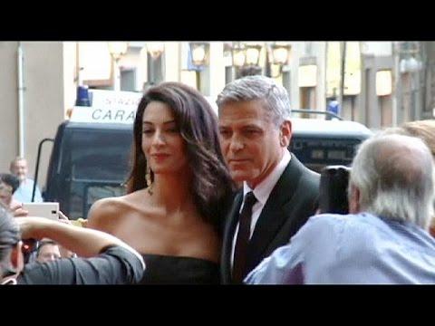 Promi-Hochzeit am Wochenende? George Clooney mit Freu ...