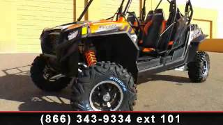 9. 2014 Polaris RZR 4 900 EPS Orange Madness LE - RideNow Powe
