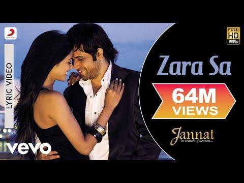 Zara Sa Lyric Video - Jannat|Emraan Hashmi, Sonal Chauhan|KK|Pritam|Sayeed Quadri