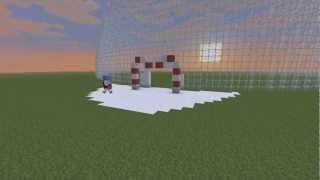 Minecraft Timelapse - Snow Globe
