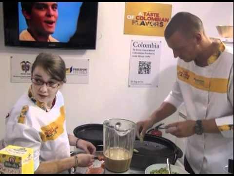 Sabores colombianos conquistan comensales internacionales en Anuga 2011