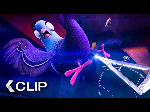 Car Chase - SPIES IN DISGUISE Extended Movie Clip (2019)