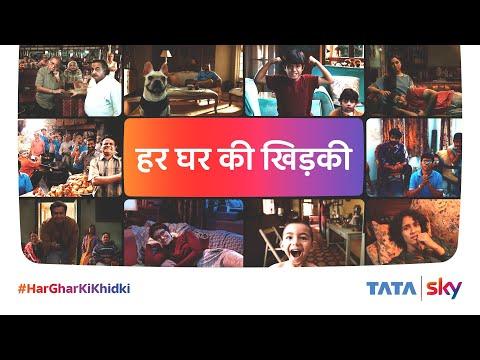 Tata Sky-Is Khidki Ko Khol Dala Toh Life Jingalala