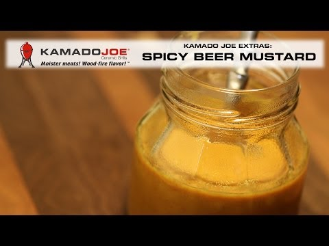 Spicy Beer Mustard - Watch the video