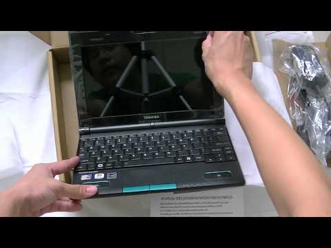 Toshiba NB520 Netbook: Unboxing and GIVEAWAY