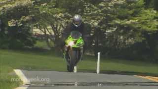 10. Two Wheelin': Kawasaki Ninja ZX-6R