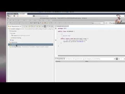Integrar Github en Eclipse. Compartir Proyectos (Ubuntu)