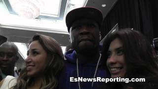 50 Cent on Floyd Mayweather who is the fool who lost 100 million last night?