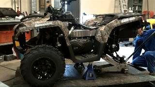 6. 2012 Canam Outlander 1000XT Osta's Build at Pines Power Sports