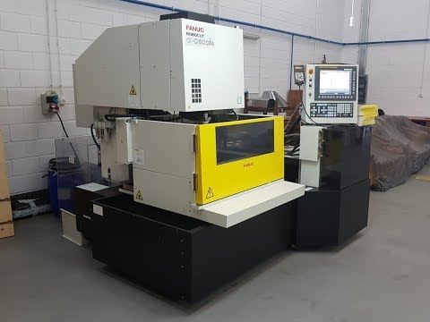 Wire Electrical Discharge Machine Fanuc ROBOCUT ALPHA C600IA 5 AWF 2015-Photo 2