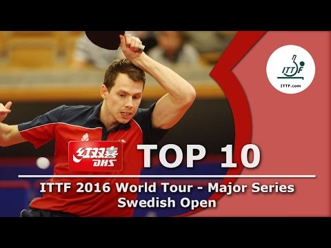 DHS ITTF Top 10 - 2016 Swedish Open
