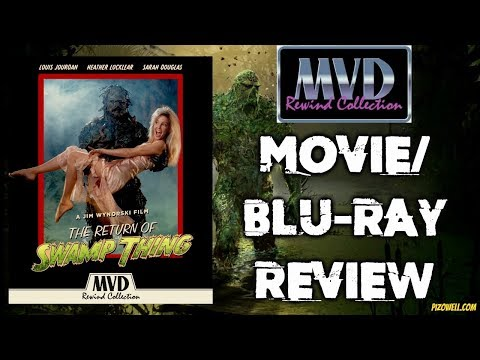 THE RETURN OF SWAMP THING (1988) - Movie/Blu-ray Review (MVD Rewind Collection)