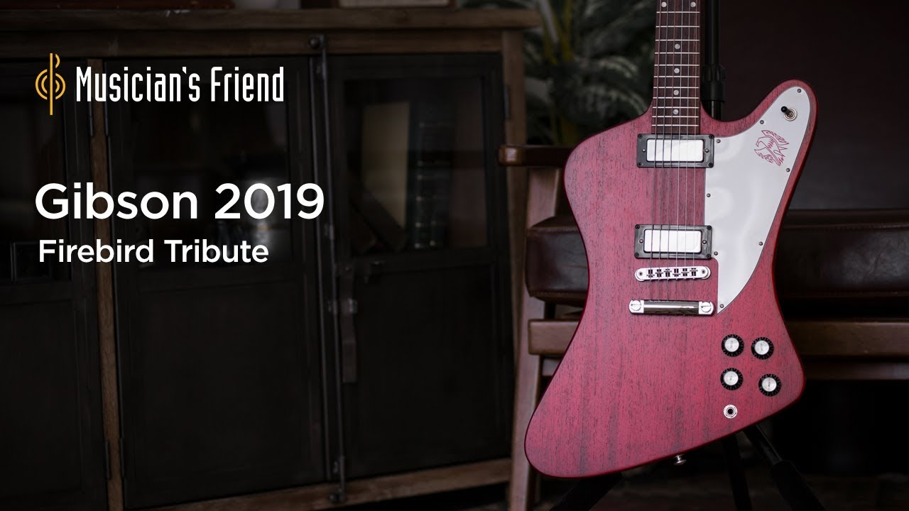 Gibson 2019 Firebird Tribute Electric Guitar Demo
