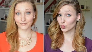 HOW TO: Perfekte Locken über Nacht | Tshirt-Curls | TheRealNana - YouTube