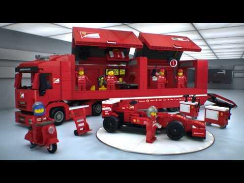 LEGO Speed Champions - F14 T és Scuderia Ferrari kamion