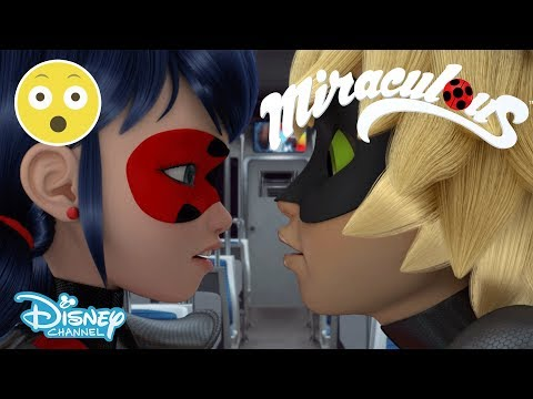 Miraculous Ladybug   Near Kiss 😱   Disney Channel UK