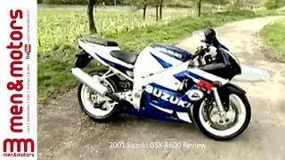5. 2001 Suzuki GSX-R600 Review