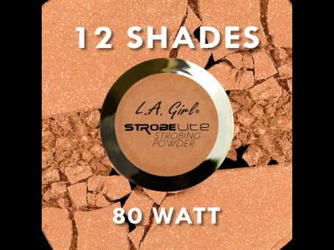 LA Girl Cosmetics LA Girl Strobe Lite Powder 40 Watt
