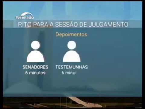 Senado inicia nesta quinta o julgamento de Dilma Rousseff