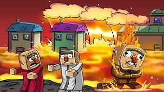 Minecraft | ULTIMATE LAVA TSUNAMI BASE - Base Challenge! (TSUNAMI BASE)