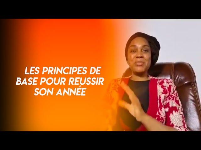 LES PRINCIPES DE BASE POUR RÉUSSIR SON ANNÉE