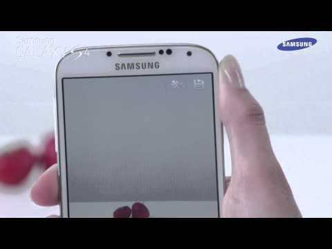 """Samsung Galaxy S4 - prezentacja trybu aparatu """"Gumka"""""""