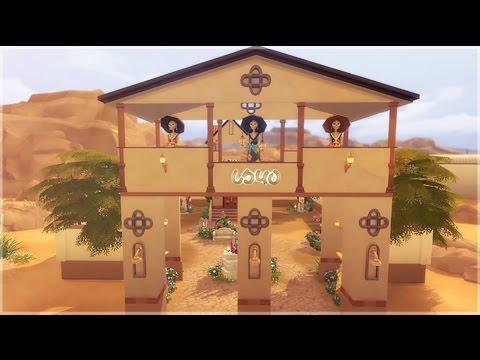 The Sims 4 Build    Dia de los Muertos Graveyard
