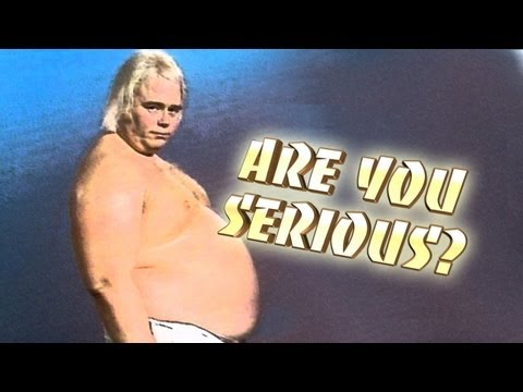 0 Hulk Hogan & Warrior Featured On Latest Are You Serious?, More WCW Mockery
