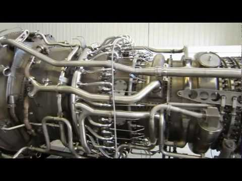Land Engine: Aircraft Turbine = Big Power