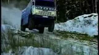 Great movie with Kamaz 4x4 many wins on paris Dakar. realy greate scens.