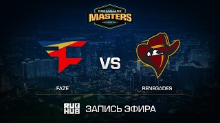 FaZe vs Renegades - DH Las Vegas - de_mirage [ceh9, CrystalMay]