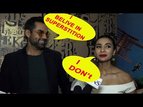 look What Abhay Deol And Patralekha Says About Superstitions
