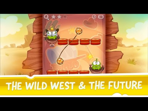 Cut the Rope: Time Travel - The Wild West & The Future Update