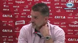 Vágner Mancini Mitou em entrevista depois do jogo Vitória x Corinthians. VOCÊ É CORINTHIANO?