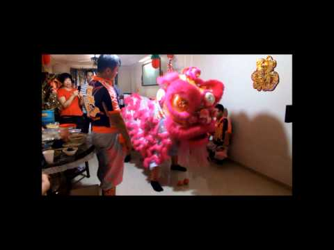 Dragon And Lion Dance (Chinese New Year 2012) Part 2