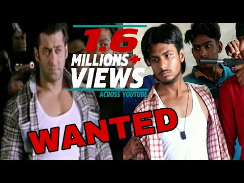 Wanted (2009) | Salman Khan | wanted movie spoof | wanted action  scene | Salman khan best action