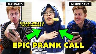 Video BULE JOWO PRANK CALL TUTOR BAHASA INGGRIS!! MP3, 3GP, MP4, WEBM, AVI, FLV Agustus 2019