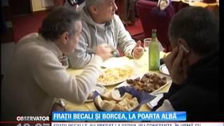 Victor şi Giovani Becali şi Cristian Borcea S-au Predat La Poliţia Din Constanţa