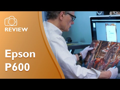 Epson SureColor P600 hands on review